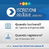 Iscrizioni online 2020-2021